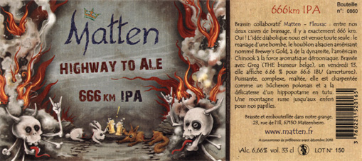 """Highway to ale"", IPA d'enfer"
